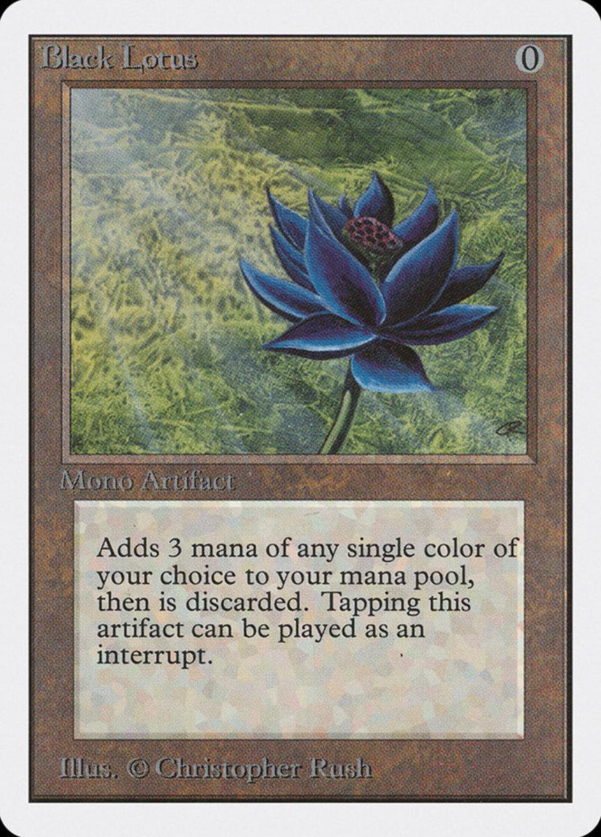 Black Lotus mtg