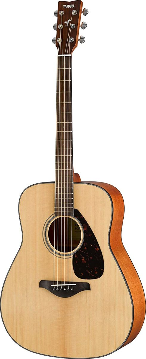 The Yamaha FG800 Solid Top Acoustic Guitar.