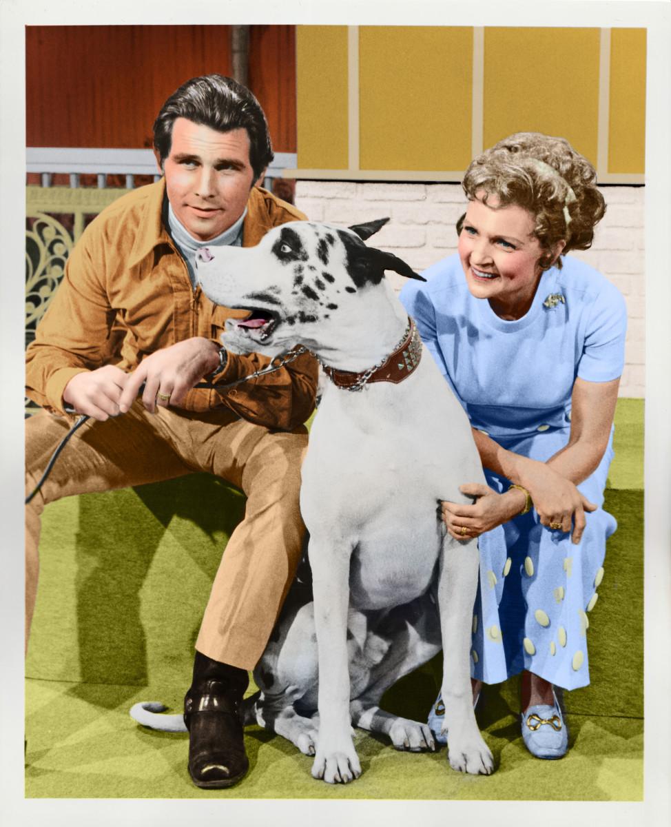James Brolin, Buck, and Betty White