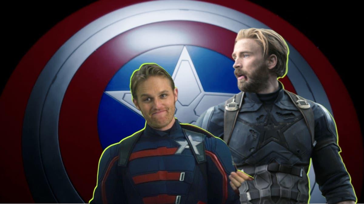Captain America: Steve Rogers vs John Walker