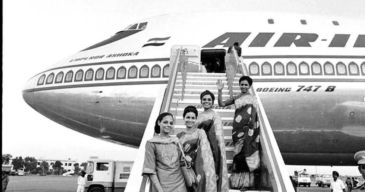 Tragedy of Emperor Ashoka, Air India's first Boeing 747