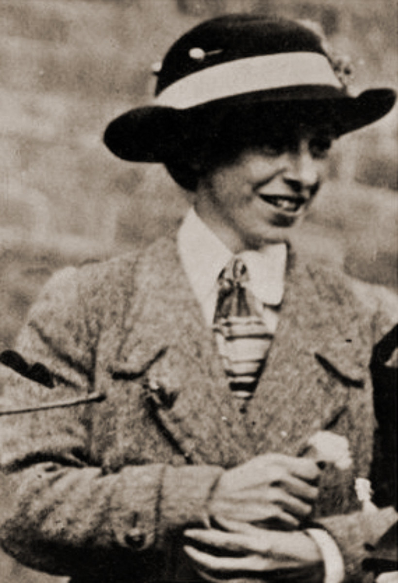 Mary Richardson who damaged the Rokeby Venus with a butcher knife