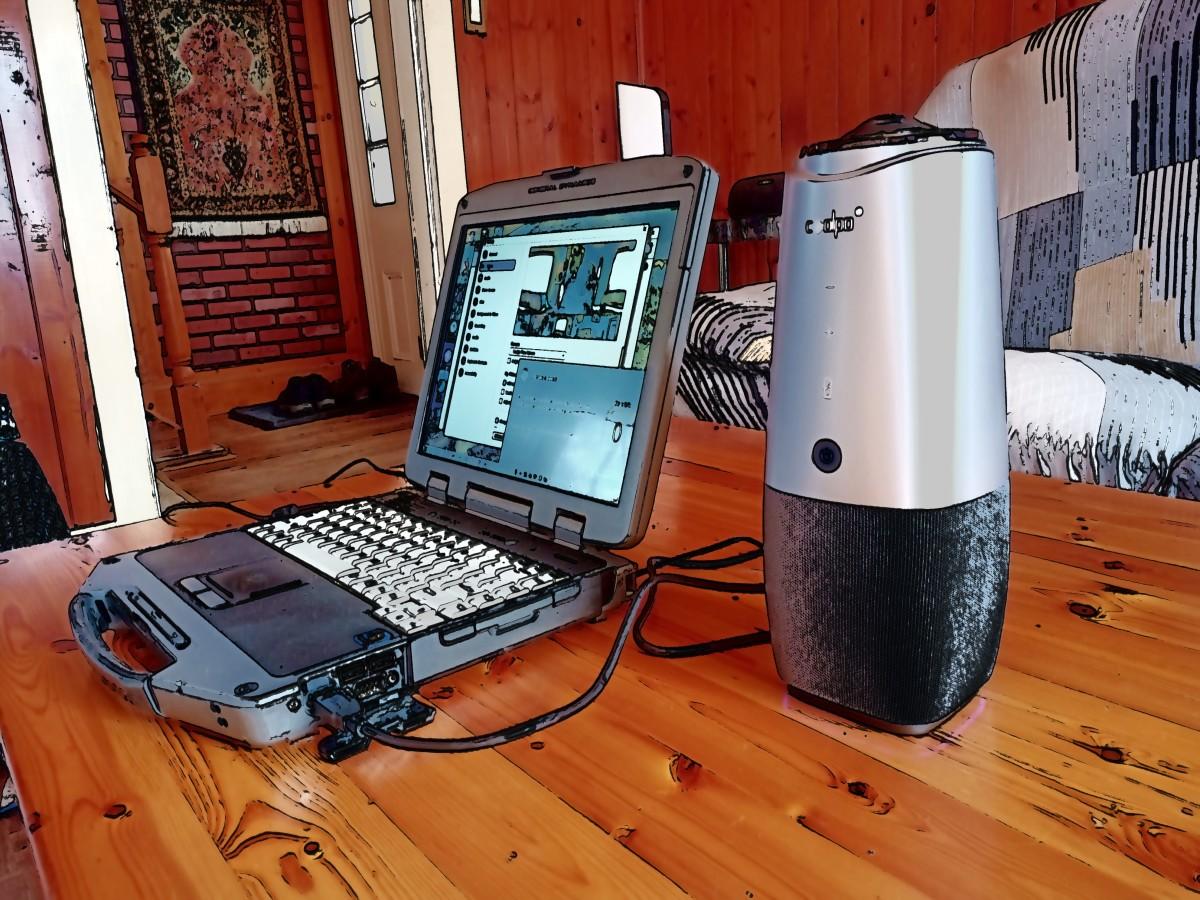 Coolpo AI Huddle Pana video conferencing camera