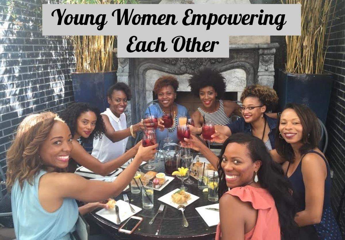 The sister circle  is a picture of young women empowering each other.