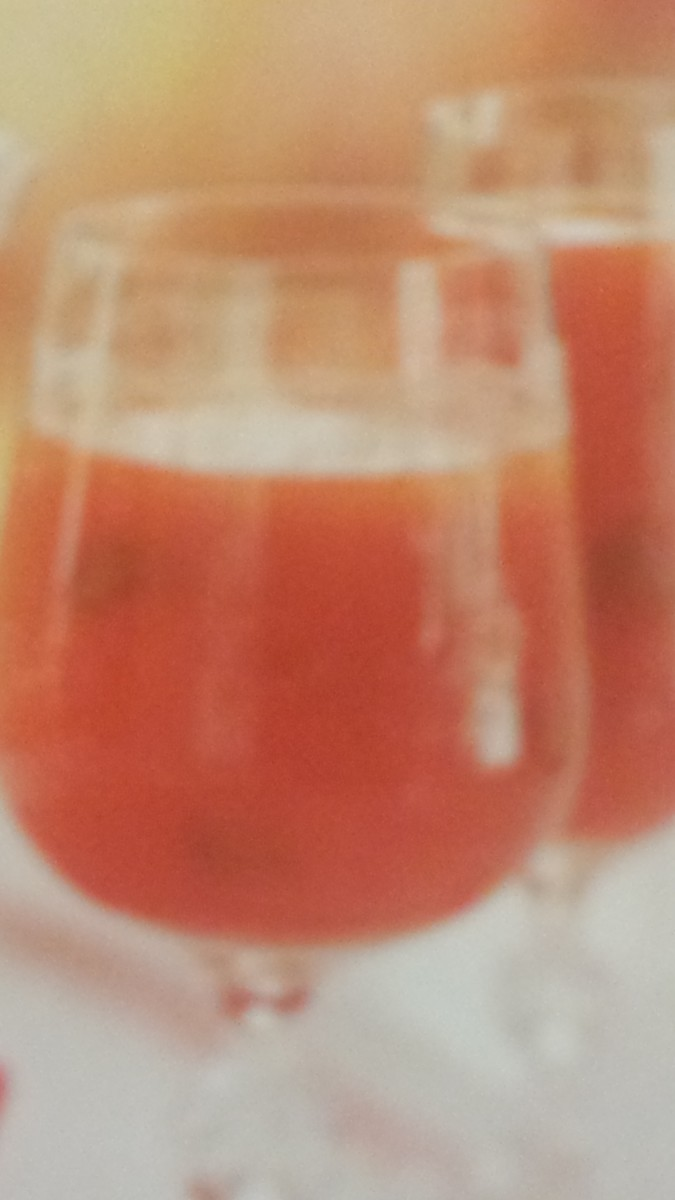 The Homemade Basil Tomato Juice Recipe