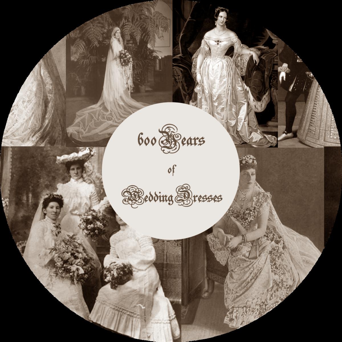 600 Years of Wedding Dress Styles