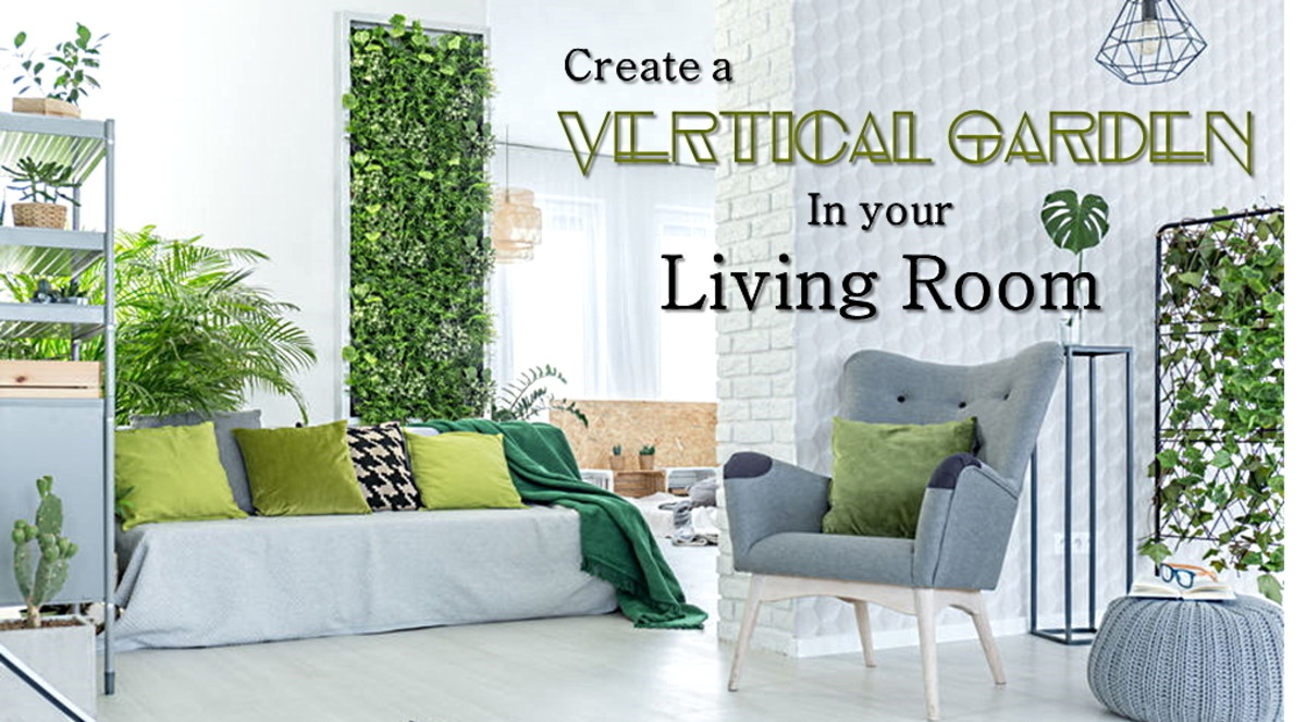 Home Decor Ideas: Indoor Vertical Wall Gardens and Planters