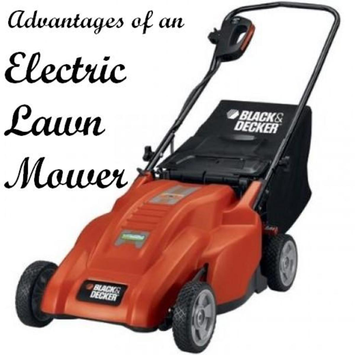Advantages of an Electric Lawnmower