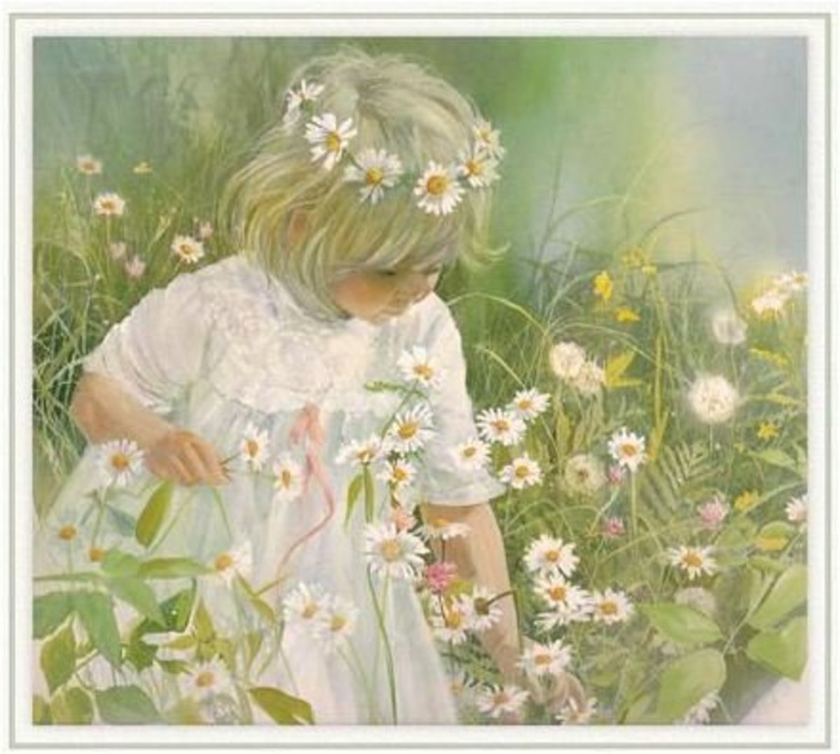 How To Make A Flower Crown, Chain or Garland. Crown of Daisies, Haiku