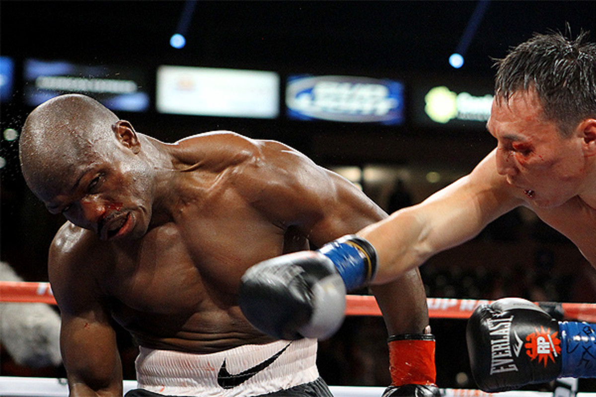 Timothy Bradley took punishment for 12 grueling rounds, but still defeated Ruslan Provodnikov in early 2013.