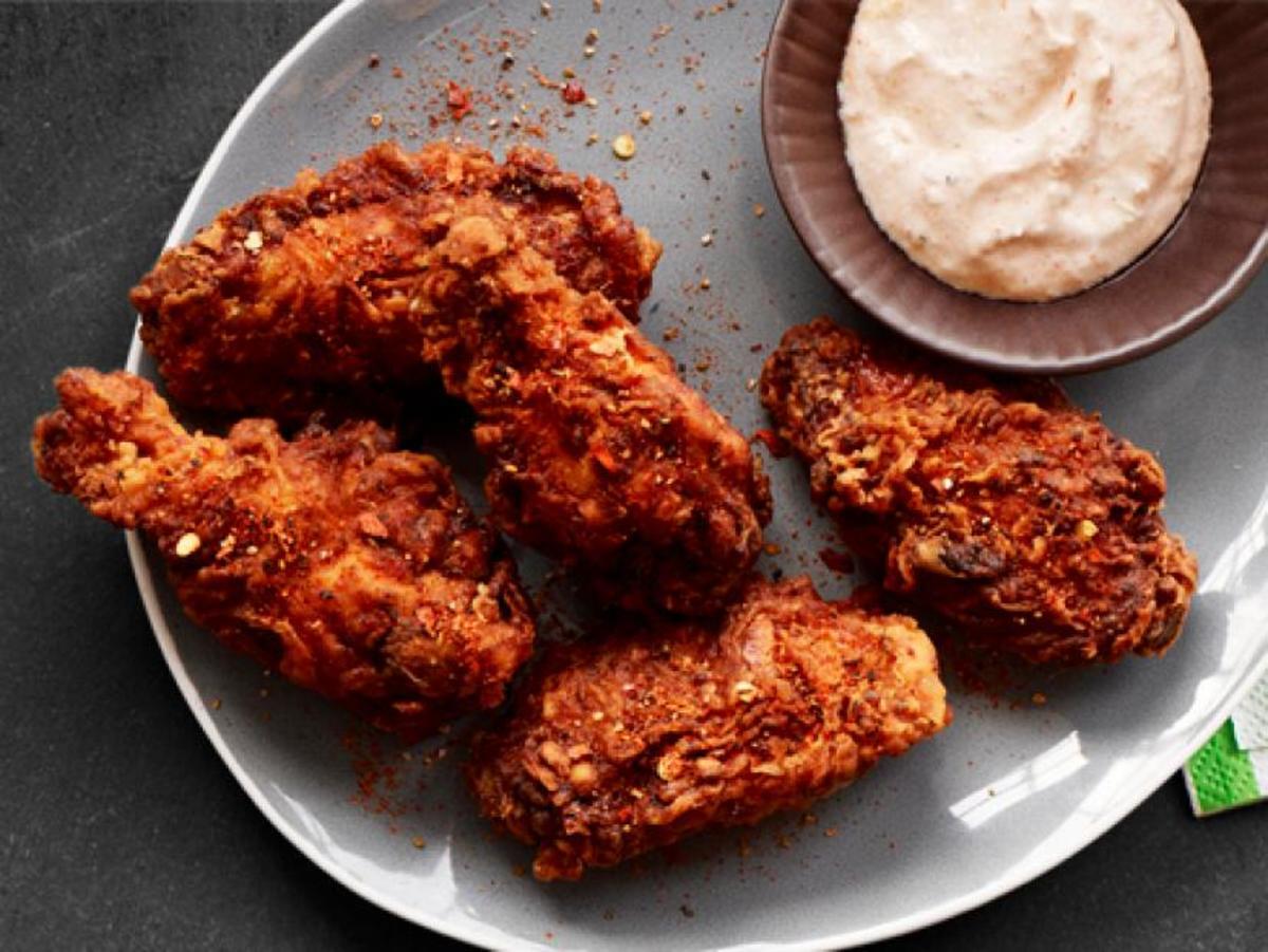 Korean Type Fried Chicken Wings