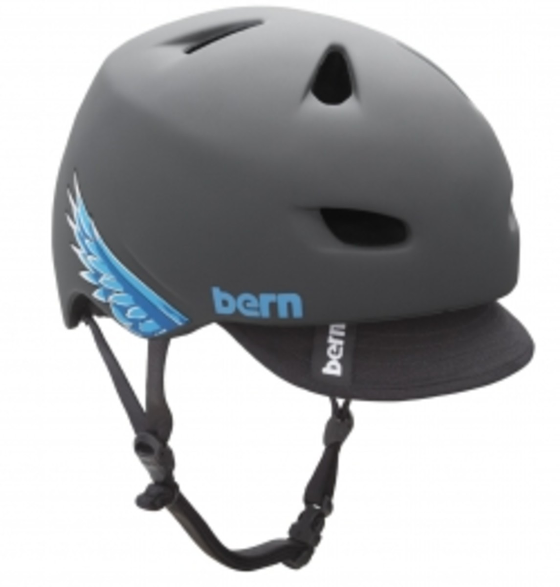 Bern bike helmets look like baseball caps