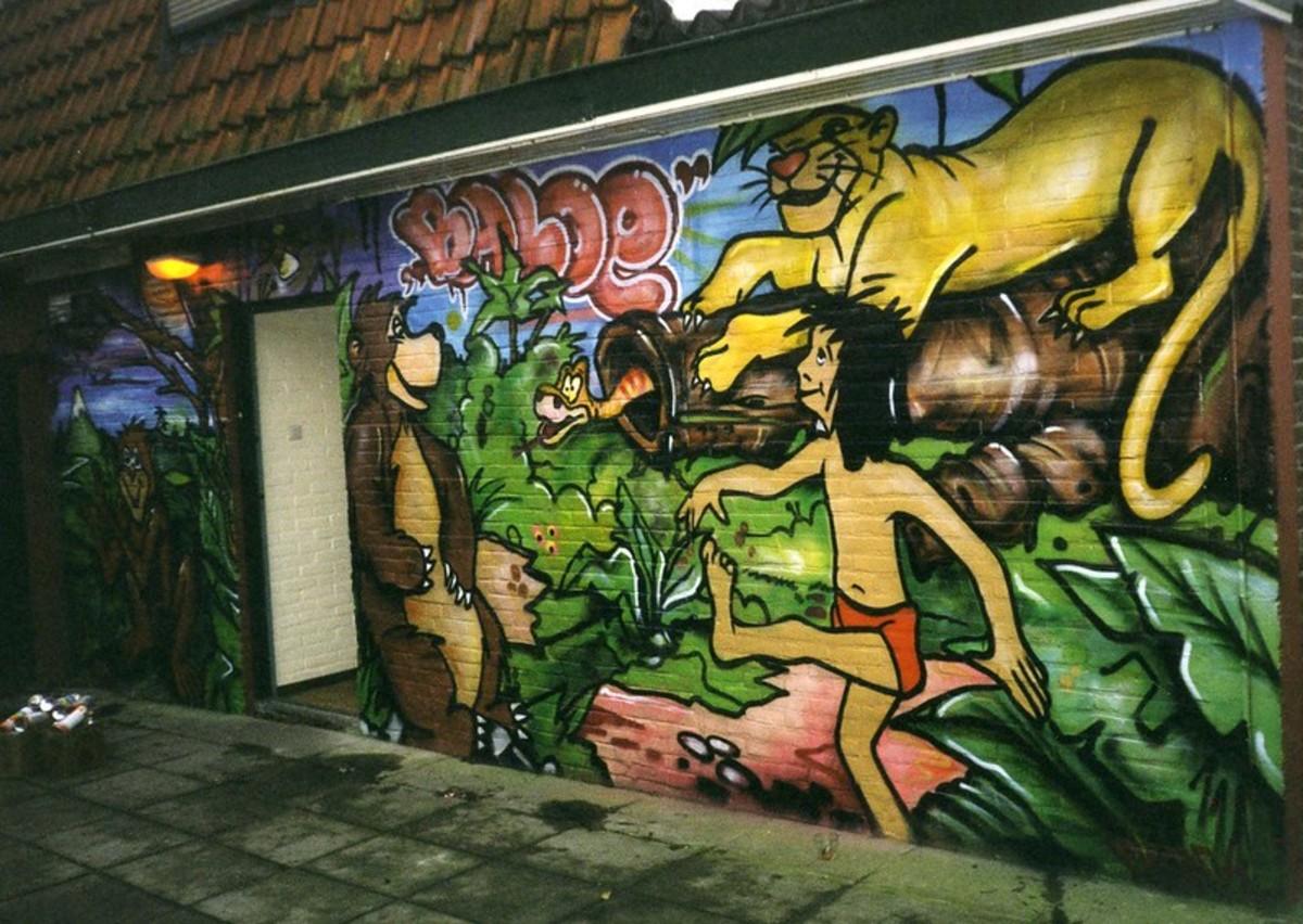 mural in public domain