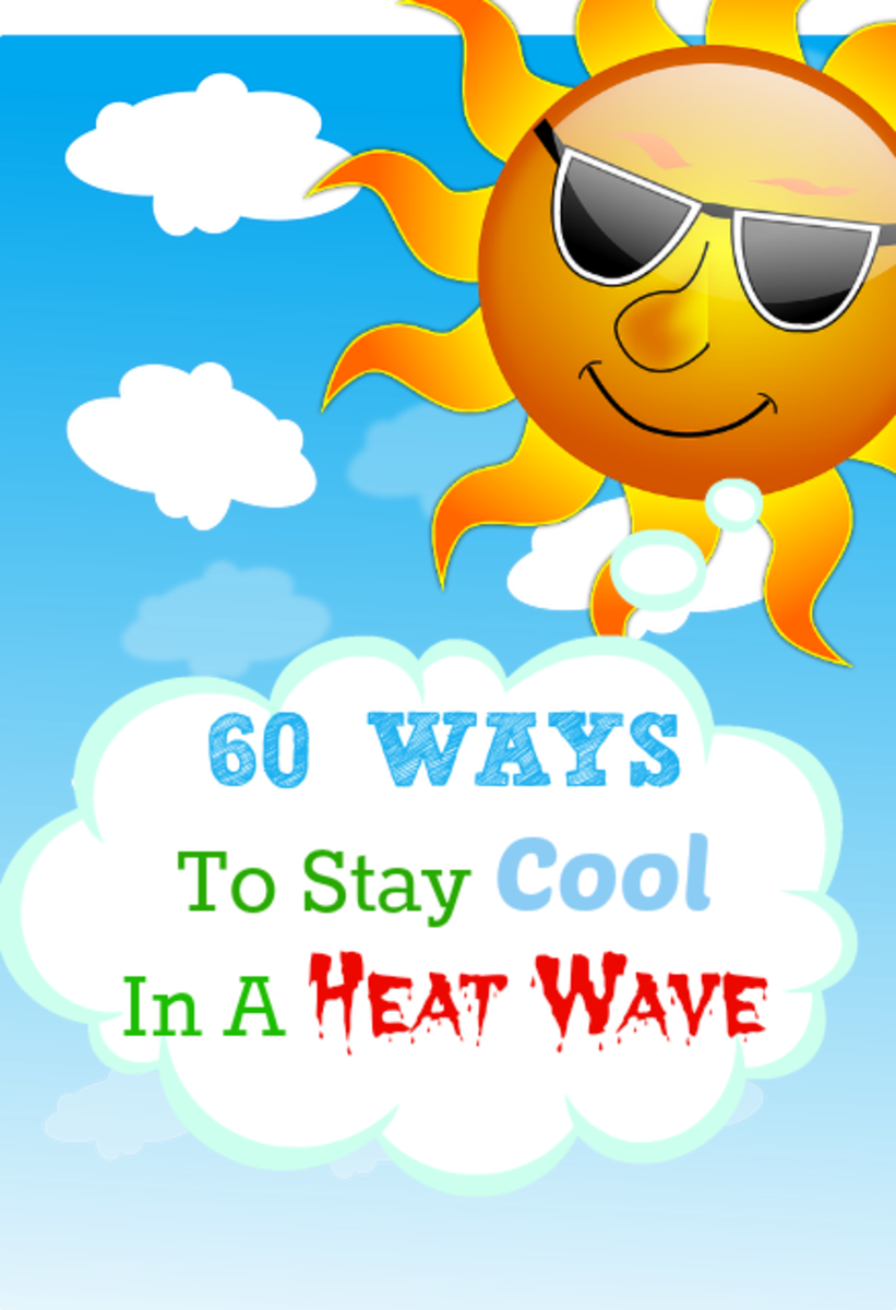 60 Ways To Stay Cool In A Hot Summer Heat Wave