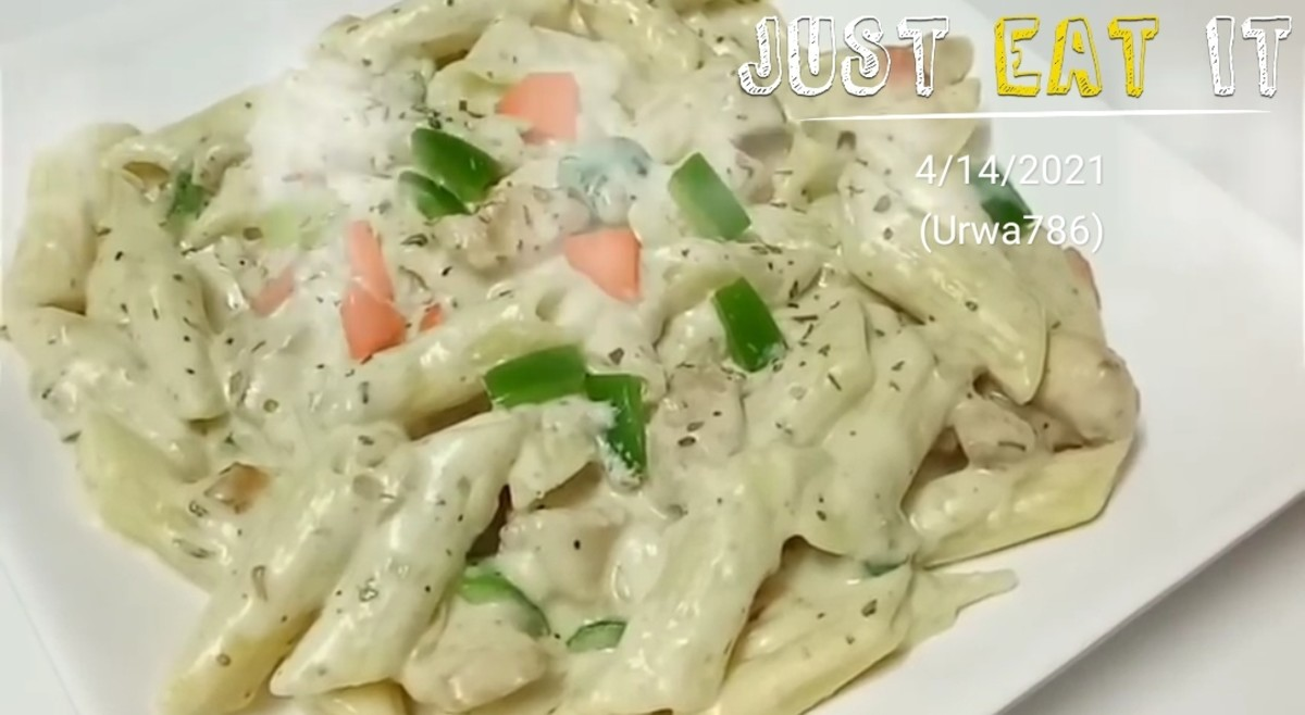 Chicken White Sauce Pasta Recipe