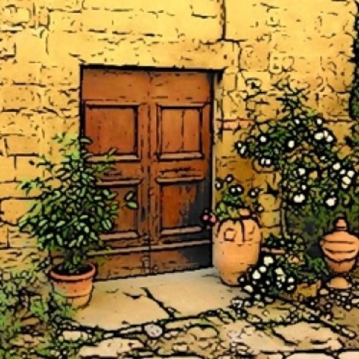 Create a Tuscan Patio