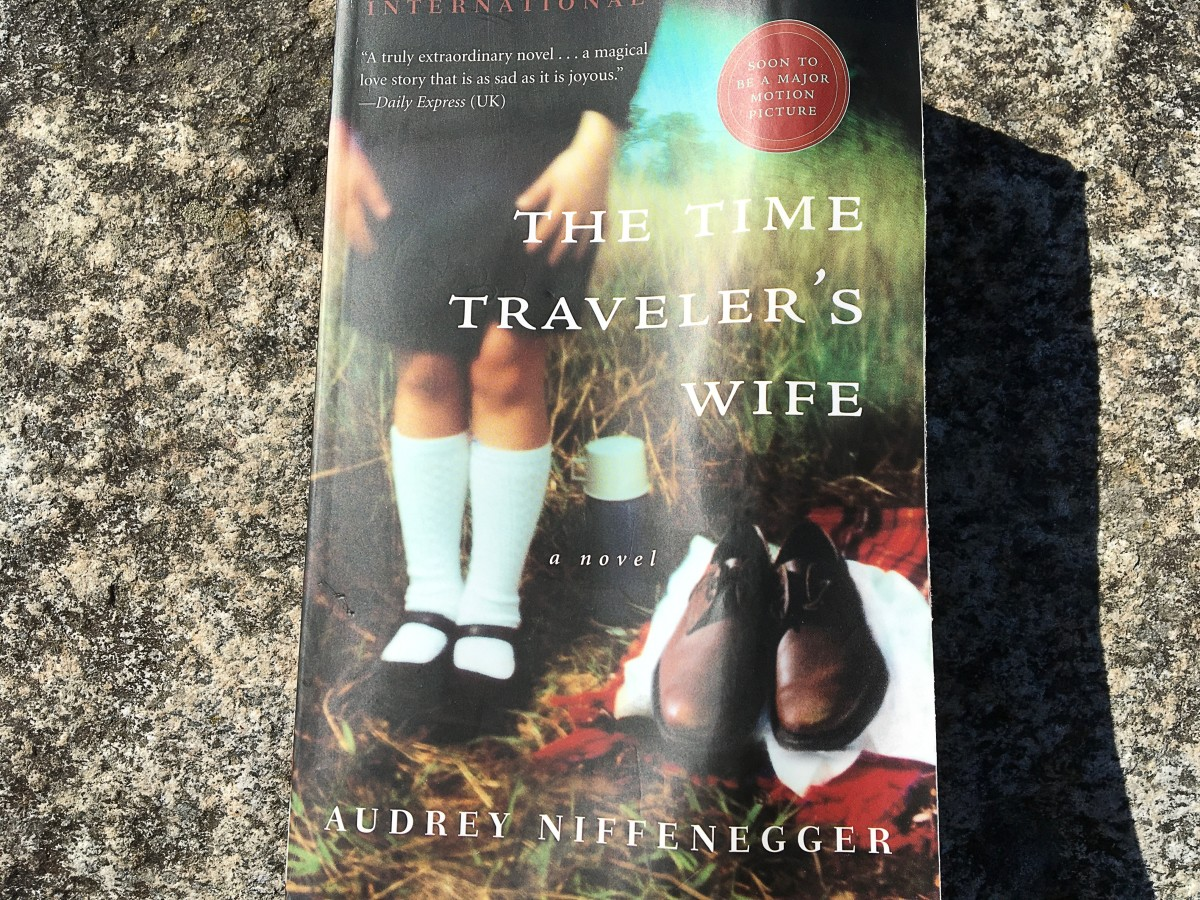 "My copy of ""The Time Traveler's Wife"""