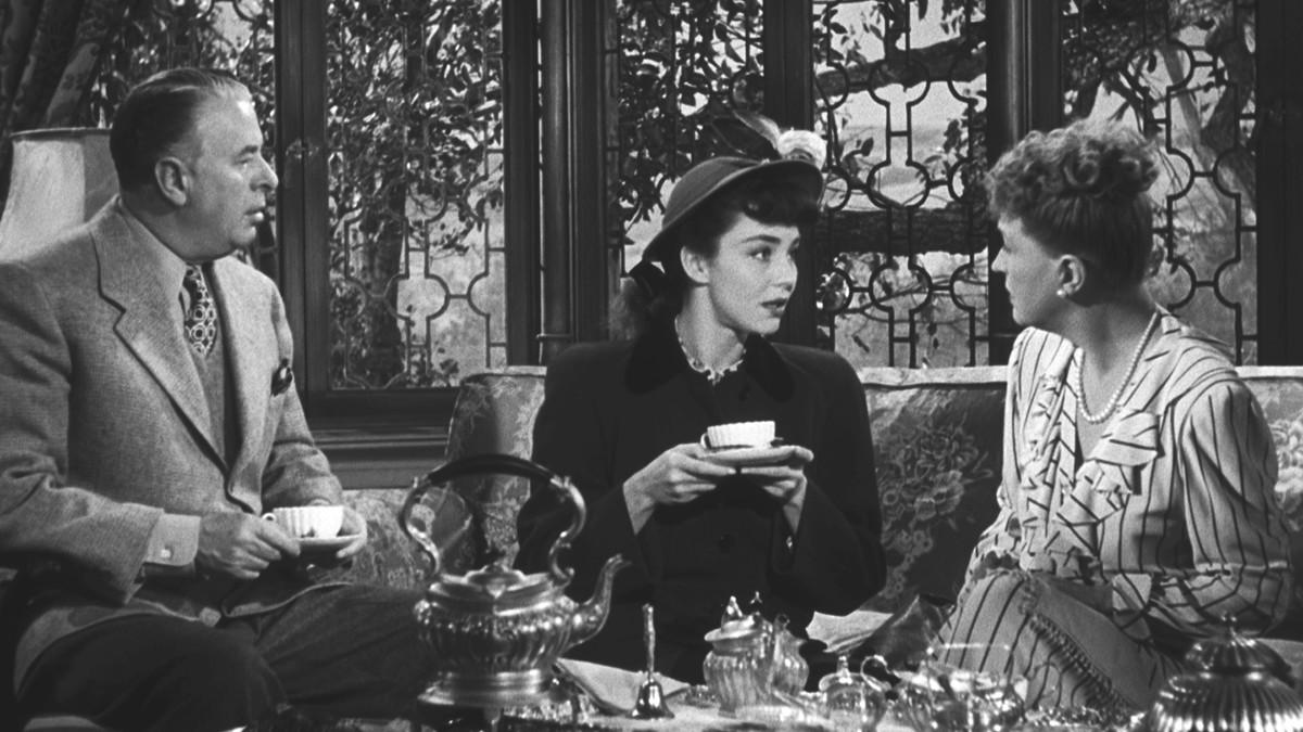 Reginald Owen, Jennifer Jones and Margaret Bannerman