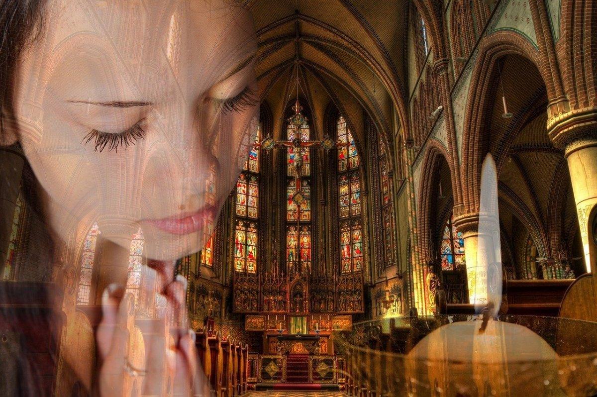 Praying in silence