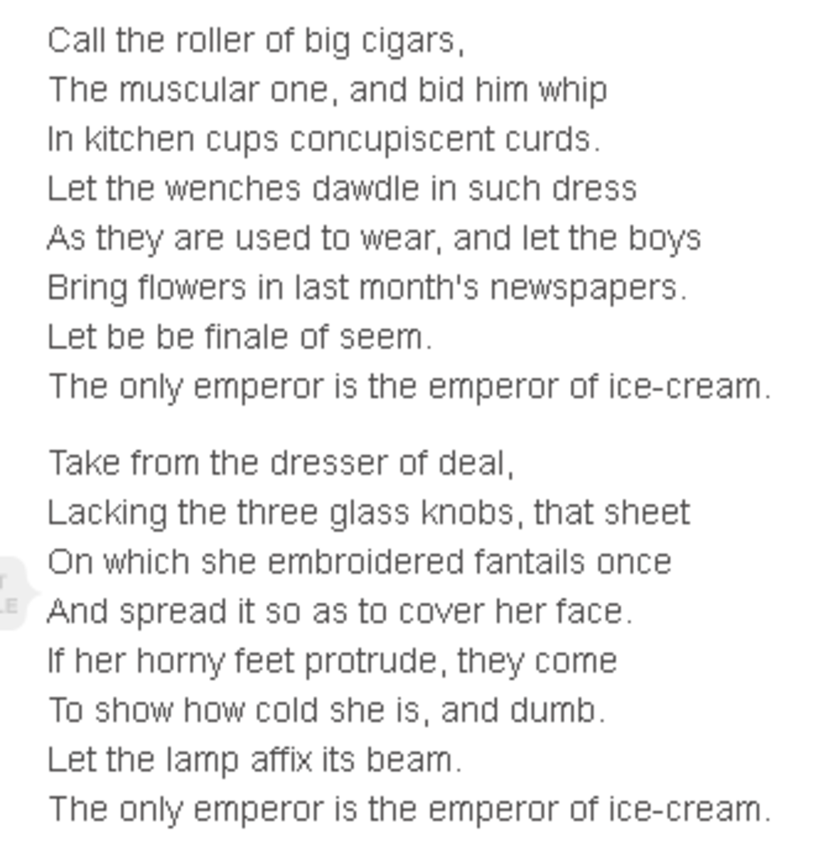 analysis-of-poem-the-emperor-of-ice-cream-by-wallace-stevens