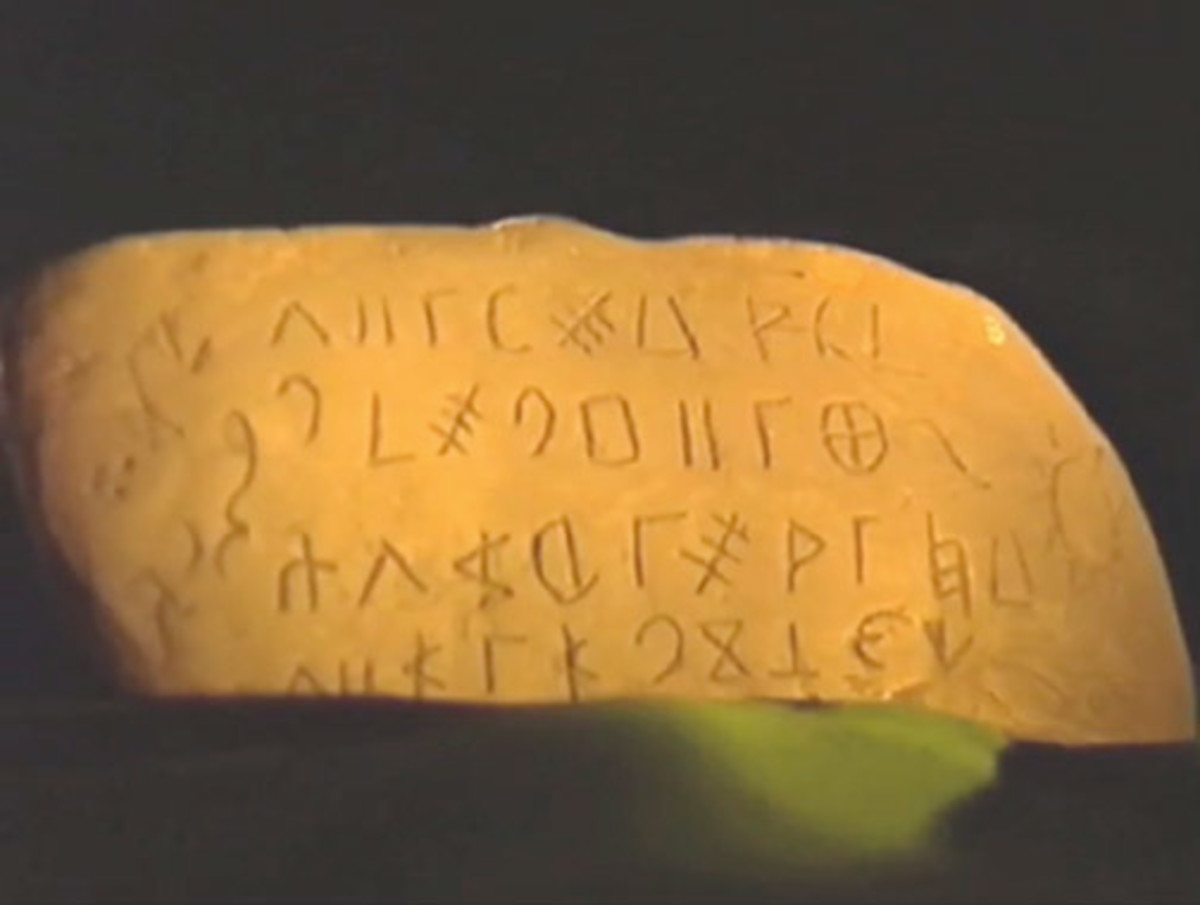 Writings older than 6,000 years.