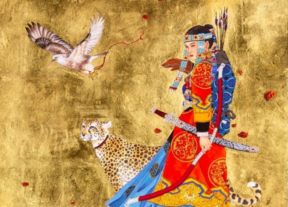 The Strongest Woman of the Mongolian Empire