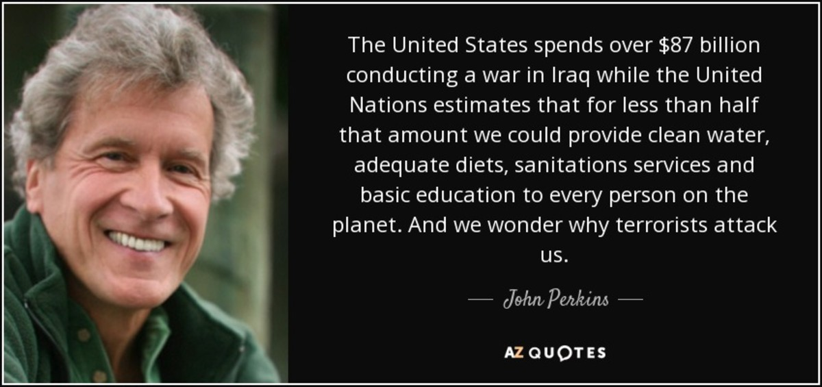 "John Perkins founded the Pachamama Alliance, ""a global community that helps  people learn, connect, engage, travel and cherish life for the purpose of creating a sustainable future that works for all."""