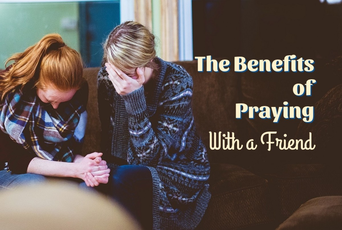 Praying with a friend meets a bundle of needs.