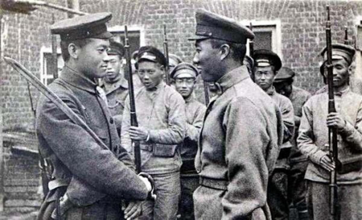 Chinese volunteers