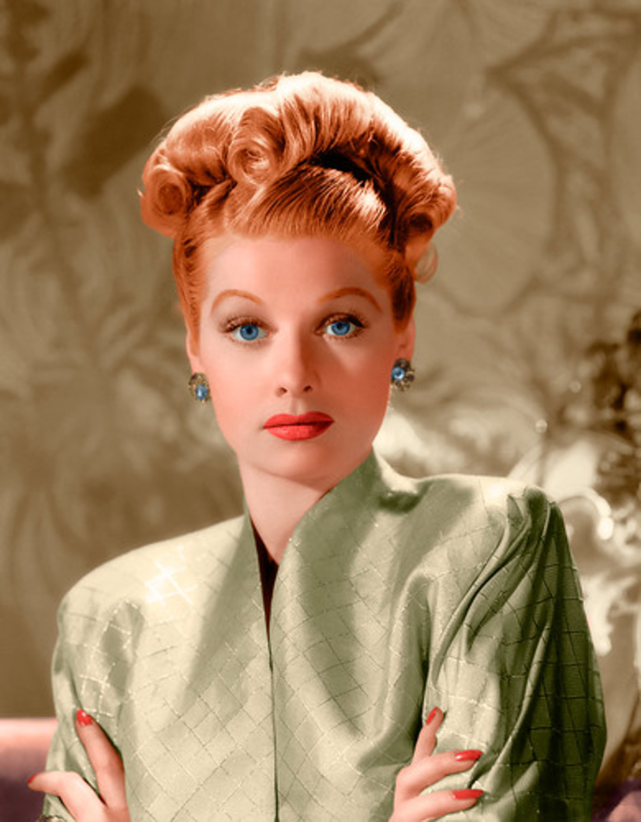 """Once in his life, every man is entitled to fall madly in love with a gorgeous redhead."" Lucille Ball"