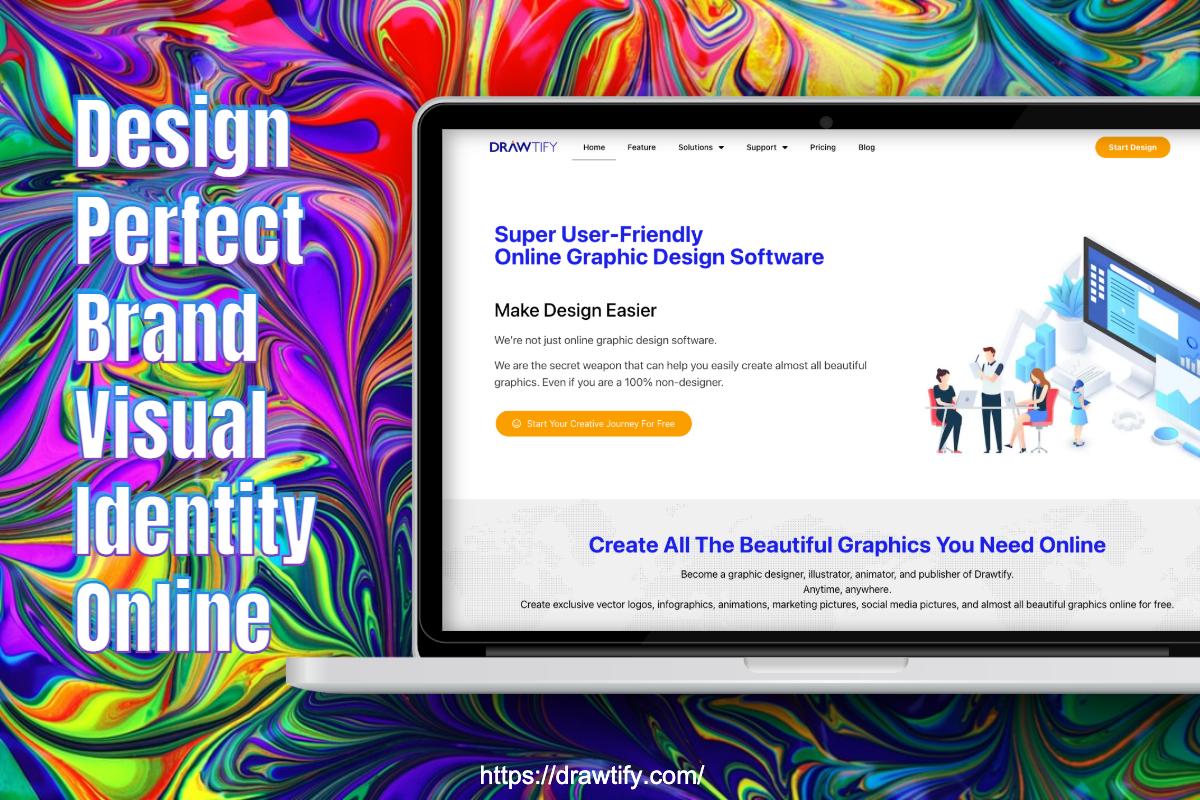 Design Perfect Brand Visual Identity Online|Drawtify
