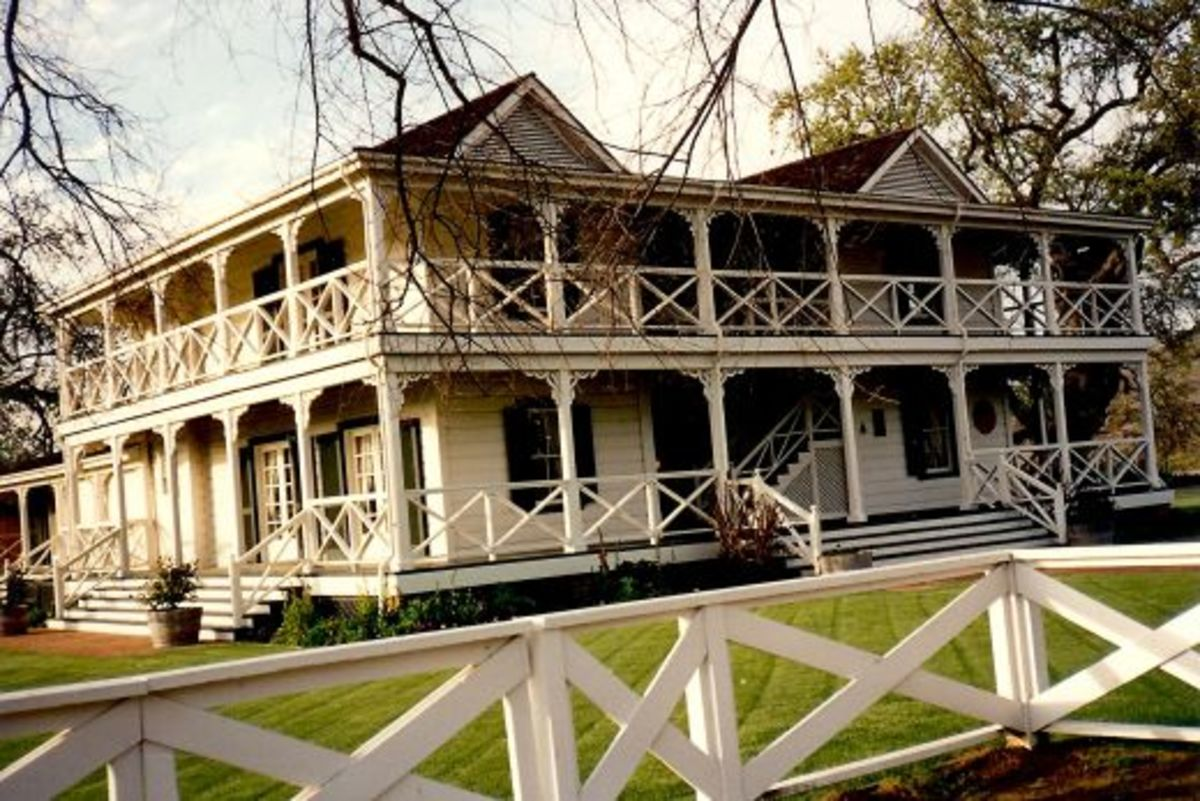 California ~ Spending the Night in Lillie Langtry's House ~ Guenoc Winery