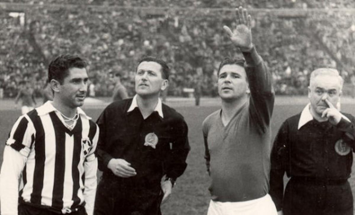Puskás as a National Hungarian Team captains (1951.)