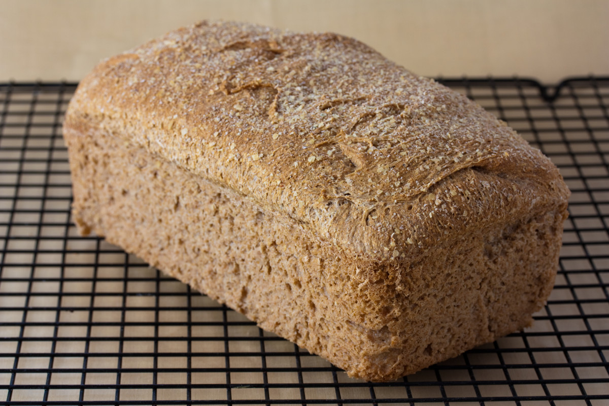 Whole wheat bread is better for you than white read.