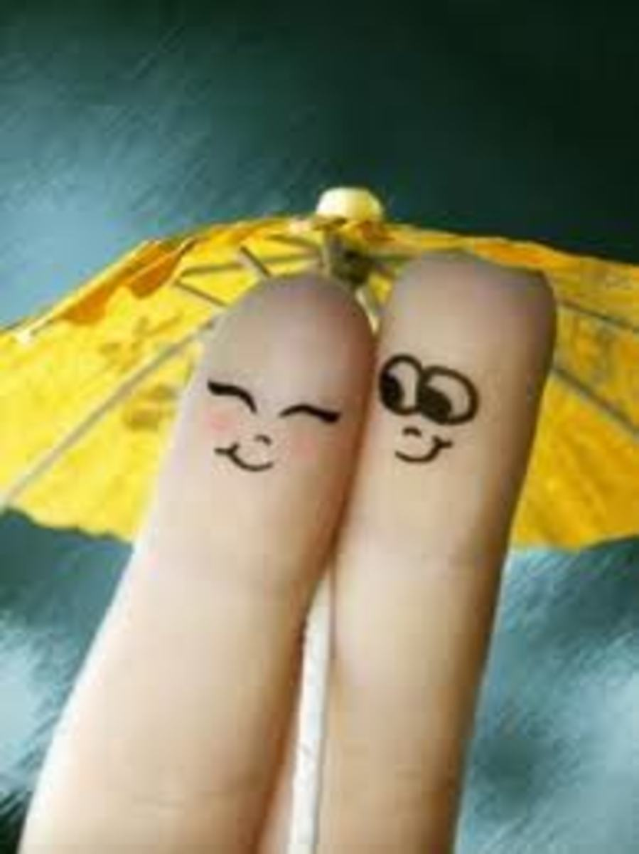 What could be sweeter than that? Two fingers, I mean a couple on that one rainy day.