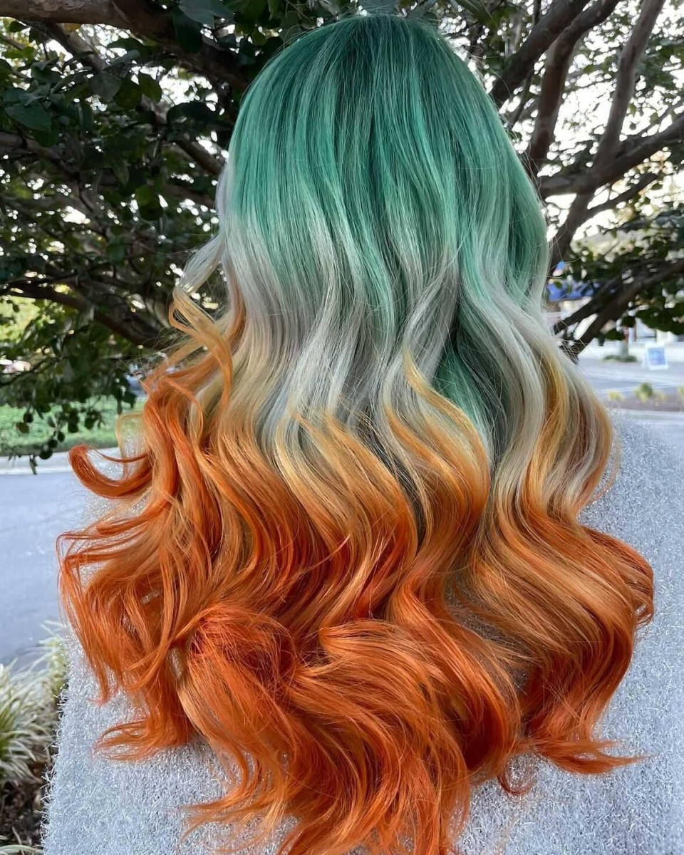 A fresh dye job by Ash Fortis at XO Hair Labs.