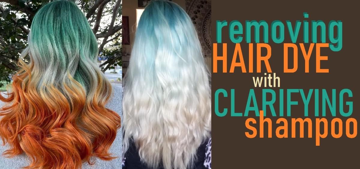 You can use a clarifying shampoo to fade hair dye.