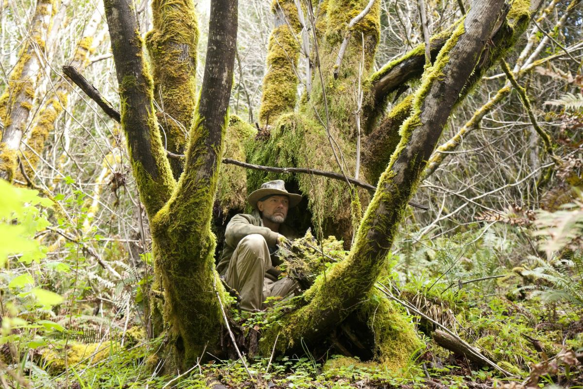 Survivorman in search of Bigfoot
