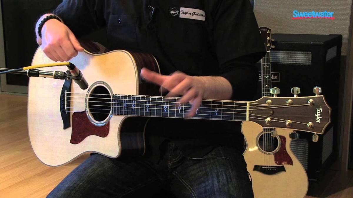 Taylor 810ce Dreadnought Acoustic-electric Guitar