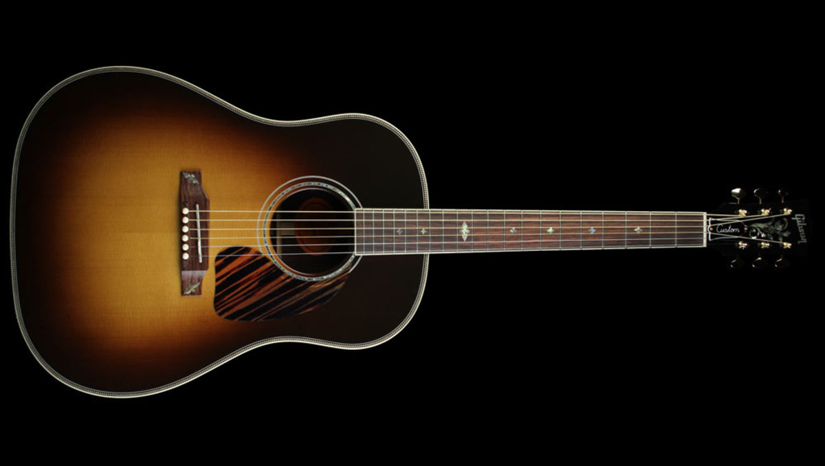 Gibson Limited Edition J-45 Custom Mystic Rosewood Acoustic/Electric Vintage Sunburst