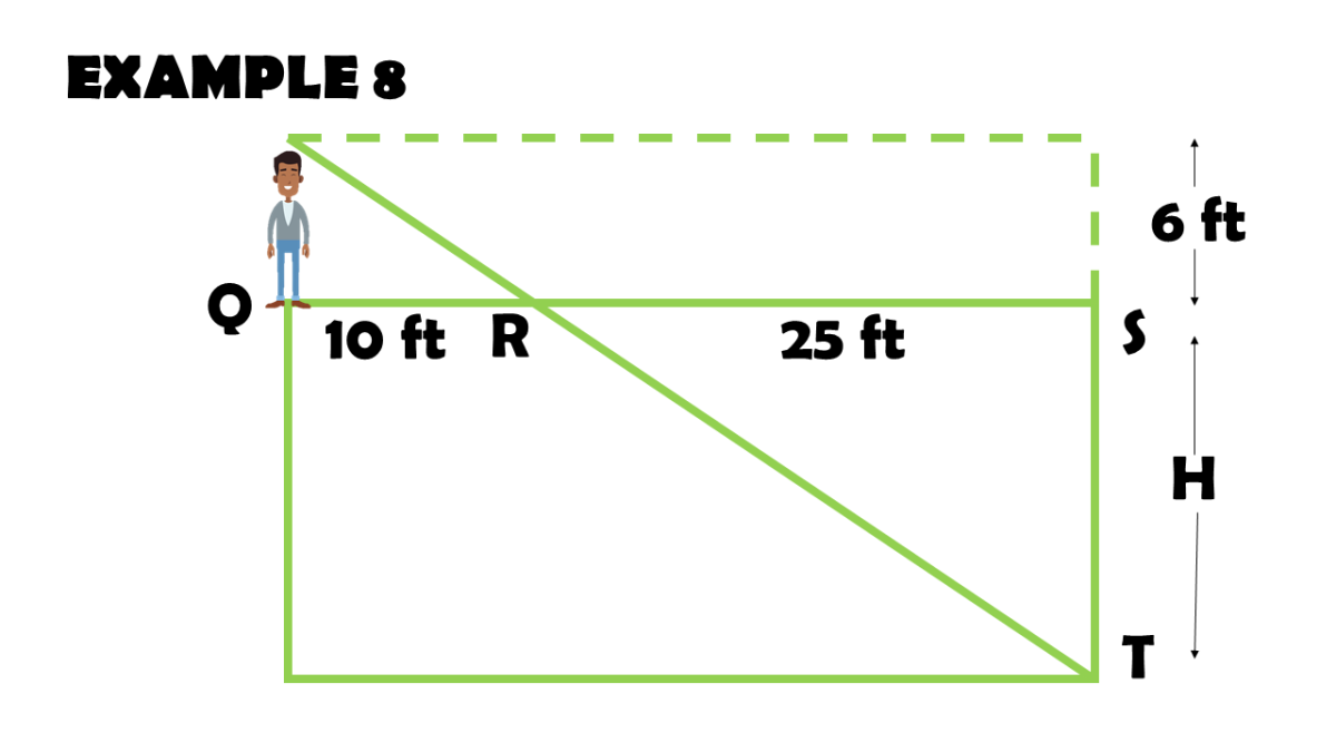 Triangle Proportionality Theorem Word Problem