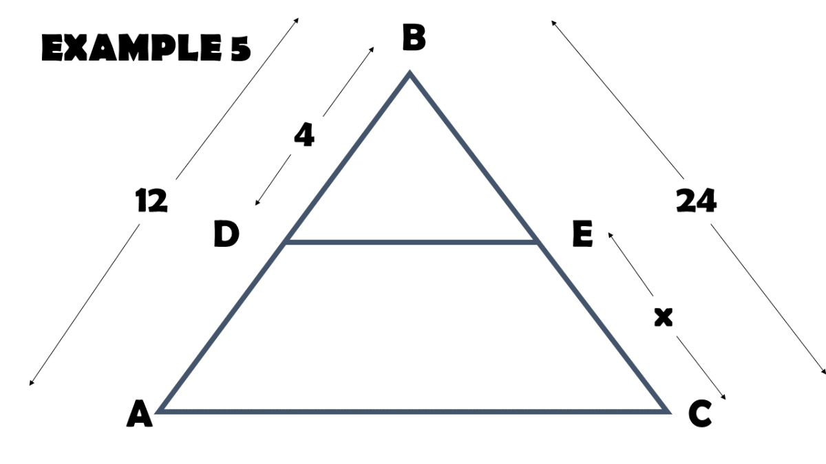 Applying the Triangle Proportionality Theorem