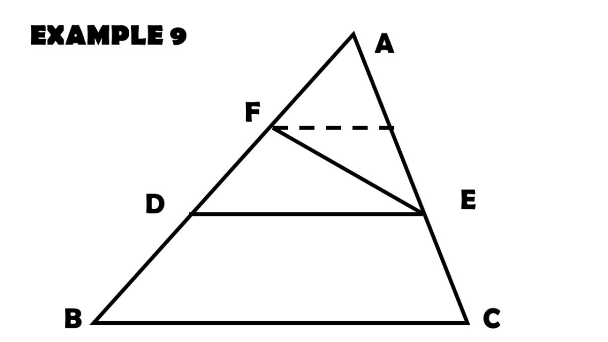 Utilizing the Triangle Proportionality Theorem