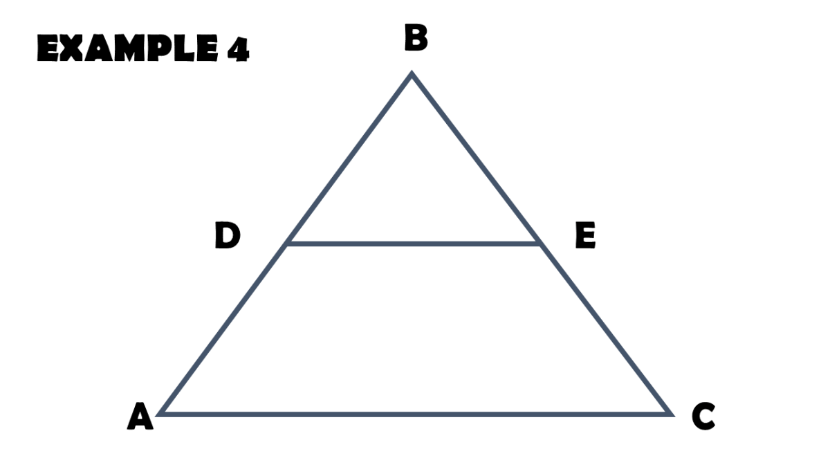 Proving Proportion Formulas Using Triangle Proportionality Theorem