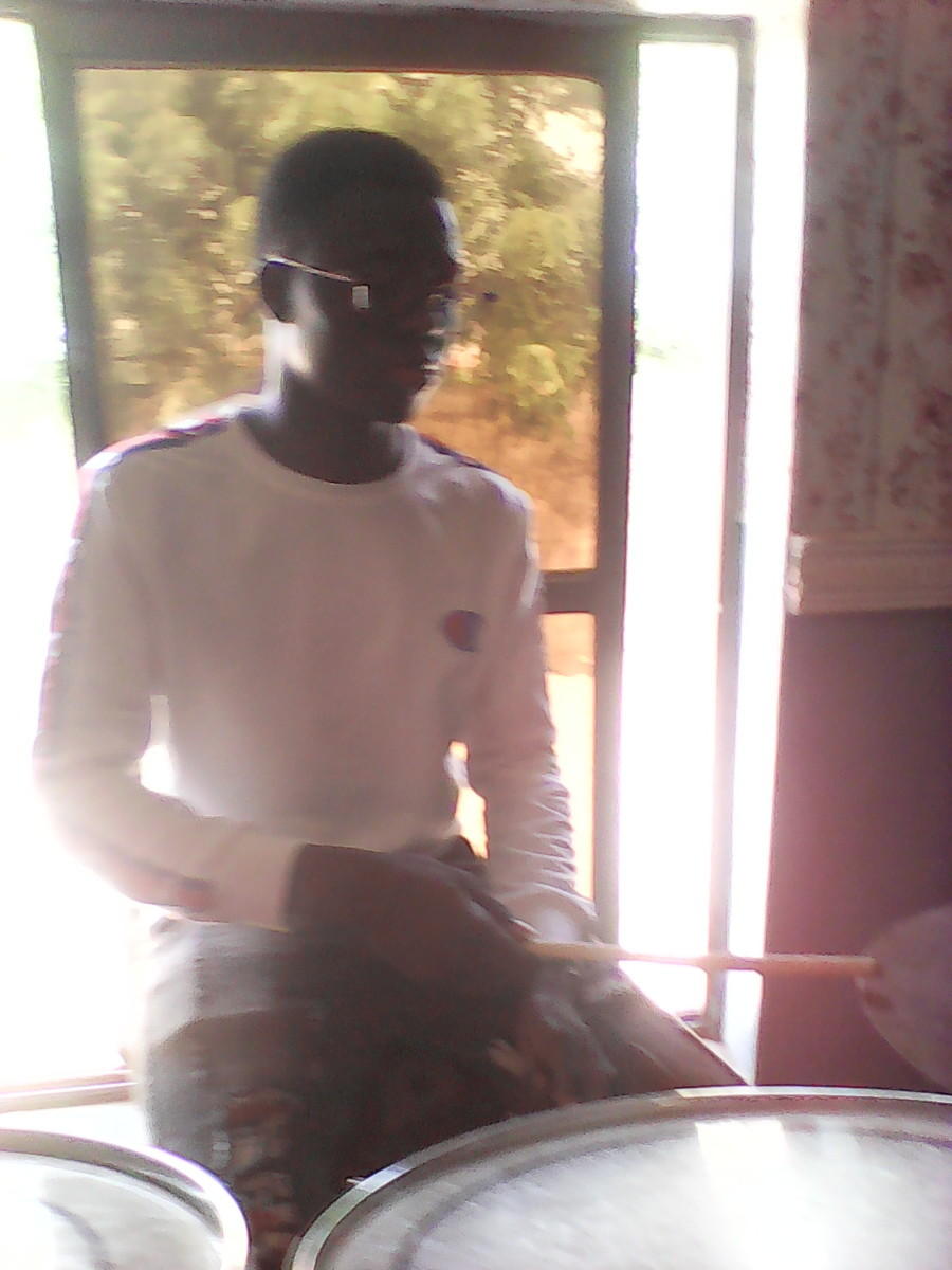 Isaac at Music Rehearsal, C.A.C. Oke-iyanu, Off Airport Road, Ilorin