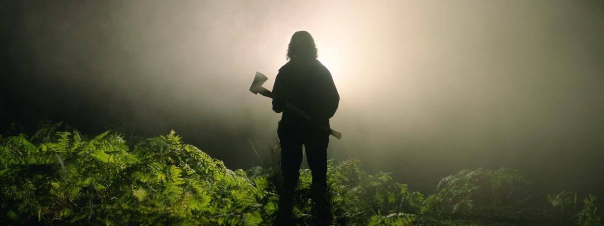 "Reece Shearsmith as Zach in ""In the Earth."""