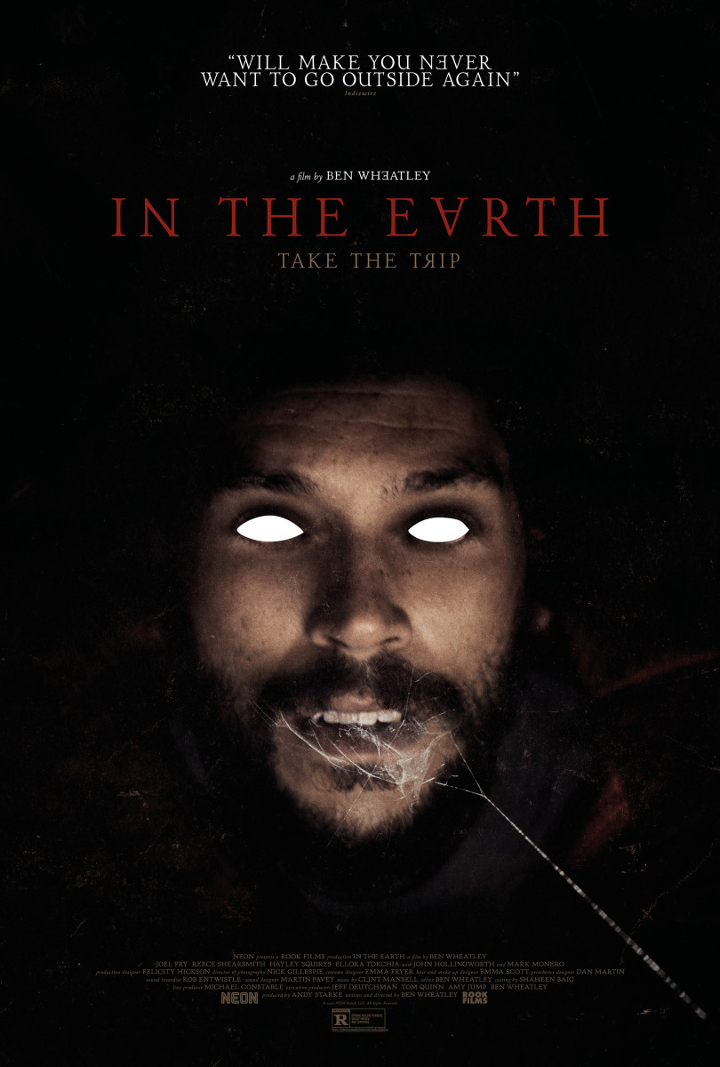 """Poster art for """"In the Earth"""" featuring Joel Fry."""