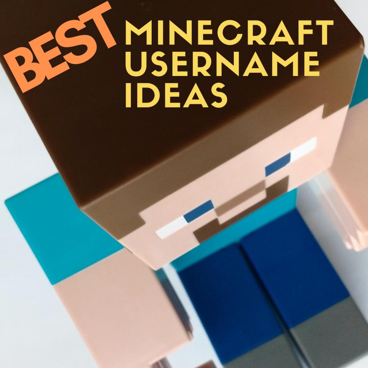 Best Minecraft Username Ideas