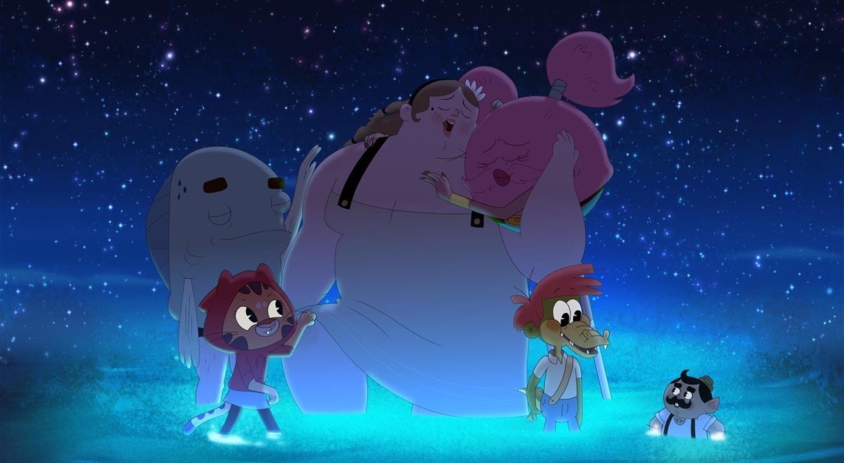 From left to right: Marcellus, Alia, Bertie, Furlecia, Arlo, and Tiny Tony.