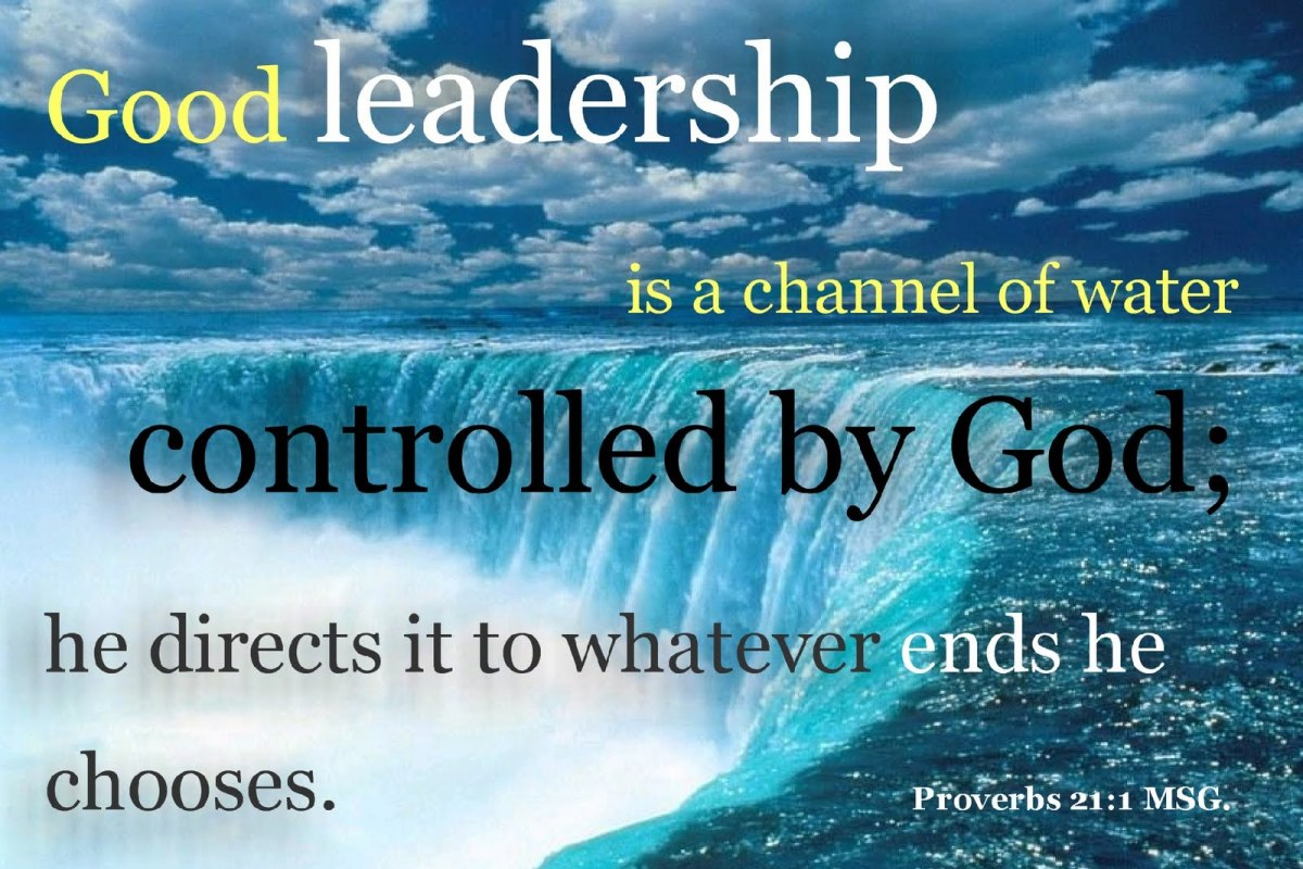 Good leaders possess the wisdom and knowledge to rule over others fairly.